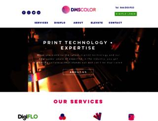 dmscolor.com screenshot