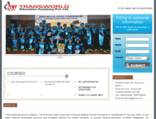 dmsfkerala.com screenshot