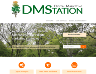 dmstation.com screenshot