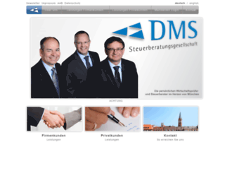 dmstax.de screenshot