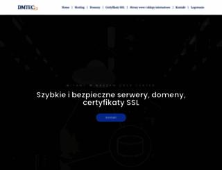 dmtec.eu screenshot
