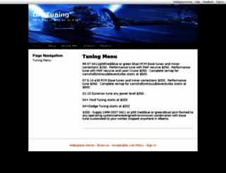 dmtuning.shawwebspace.ca screenshot