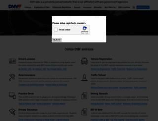 dmv.com screenshot