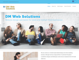 dmwebsolutions.co.uk screenshot