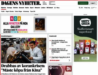 dn.se screenshot