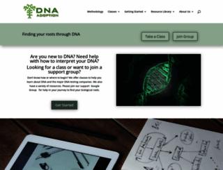 dnaadoption.com screenshot