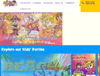 dnadiscos.co.uk screenshot