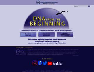dnaftb.org screenshot
