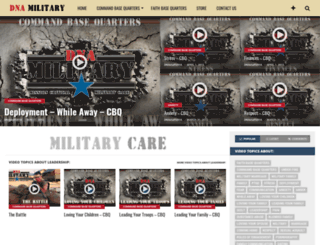 dnamilitary.org screenshot