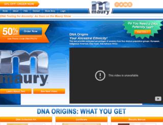 dnatruth.com screenshot