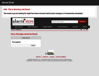 dnb.alacrastore.com screenshot