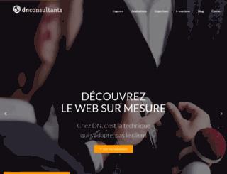 dnconsultants.fr screenshot