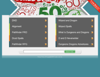 dndiscount.net screenshot