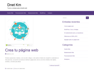 dnet-km.com screenshot