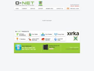 dnet.net.id screenshot