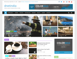 dnetindia.com screenshot
