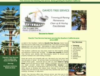 dnftreeservice.com screenshot