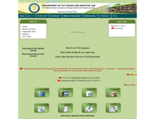 dnhctd.gov.in screenshot