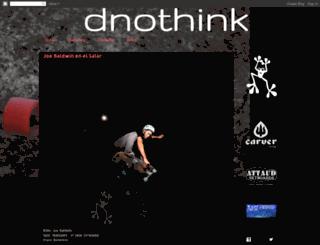 dnothink.blogspot.com screenshot