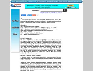 dns.domaintasks.com screenshot