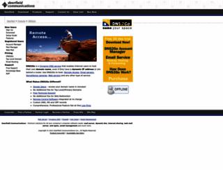 dns2go.com screenshot