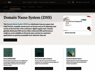 dnsalias.org screenshot