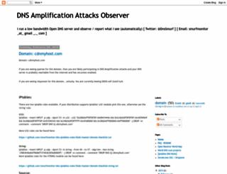 dnsamplificationattacks.blogspot.co.il screenshot