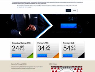 dnsbycomodo.com screenshot
