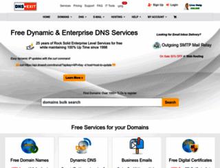dnsexit.com screenshot