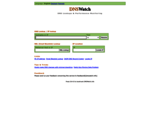 dnswatch.info screenshot