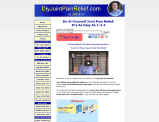 do-it-yourself-joint-pain-relief.com screenshot