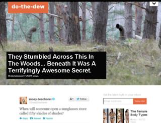 do-the-dew.com screenshot