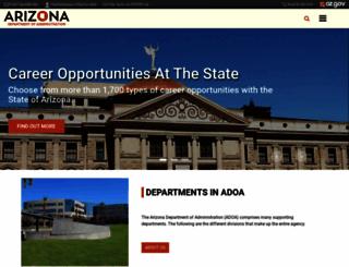 doa.az.gov screenshot