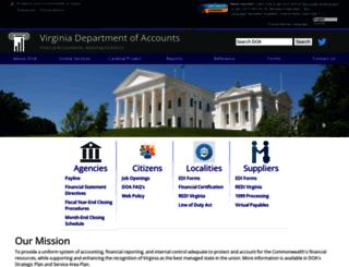 doa.virginia.gov screenshot