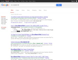 doabarrelroll.co screenshot