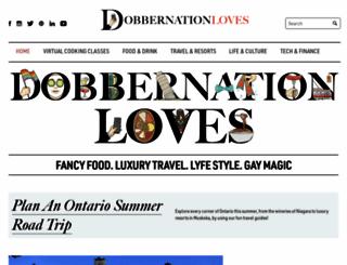 dobbernationloves.com screenshot