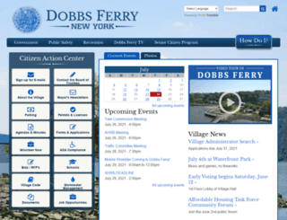 dobbsferry.com screenshot
