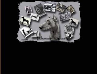 dobermann-pedigrees.com screenshot