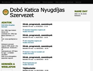 dobokatica.hu screenshot