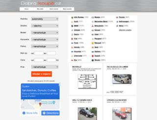 dobrakoupe.cz screenshot