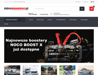 dobreakumulatory.pl screenshot
