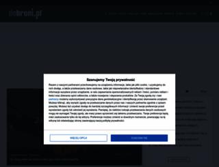 dobroni.pl screenshot
