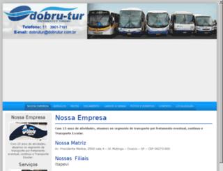 dobrutur.com.br screenshot