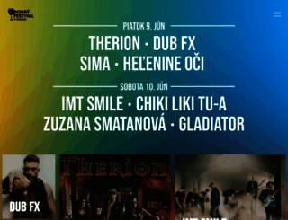 dobryfestival.sk screenshot