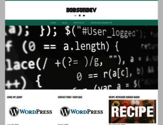 dobsondev.com screenshot