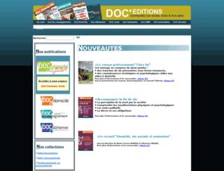 doc-editions.fr screenshot