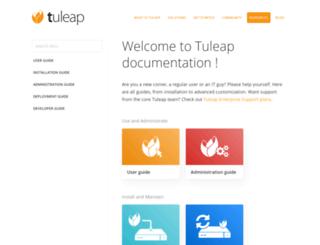 doc-en.tuleap.net screenshot