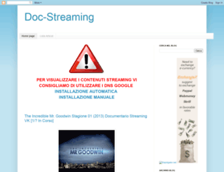 doc-streaming.blogspot.it screenshot