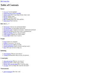 doc.bridgebase.com screenshot