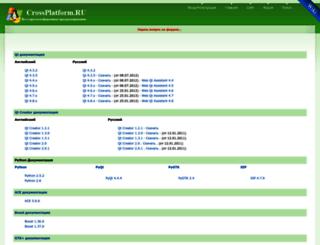 doc.crossplatform.ru screenshot
